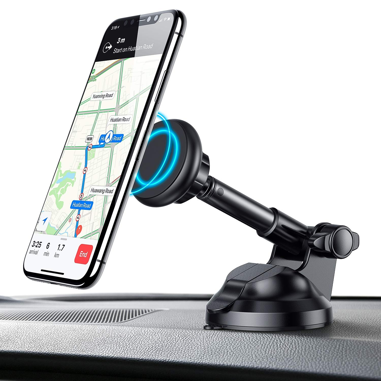 Hands Free Driving With This New Phone Mount
